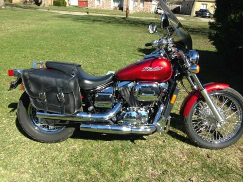 2007 Honda Shadow Red for sale craigslist