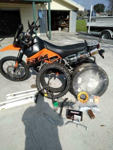 2007 KTM Adventure Orange for sale craigslist