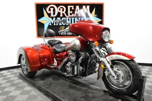 2007 Kawasaki Vulcan 1600 Nomad Trike - VN1600D Managers Special -- Red for sale