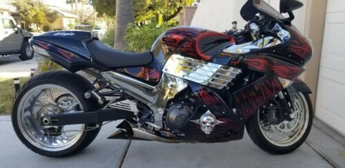 2007 Kawasaki Zx14 Custom for sale craigslist