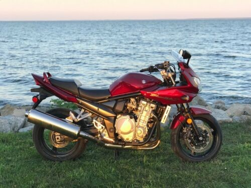2007 Suzuki Bandit Red for sale