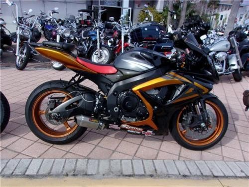 2007 Suzuki GSX-R -- Black for sale