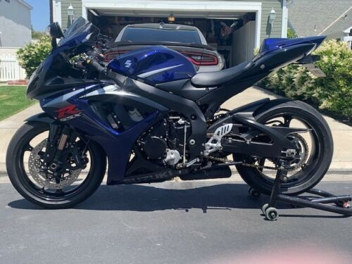 2007 Suzuki GSX-R Blue for sale