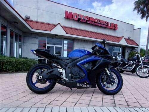 2007 Suzuki GSX-R -- Blue for sale