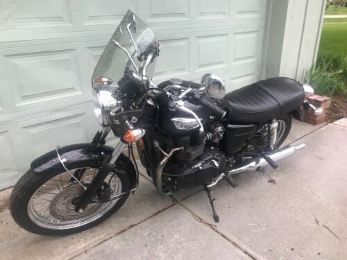 2007 Triumph Bonneville Black for sale craigslist