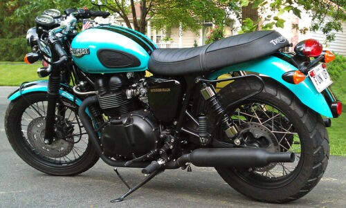 2007 Triumph Bonneville custom blue/black for sale