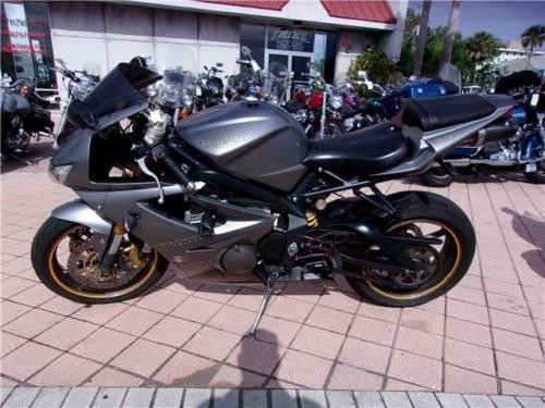 2007 Triumph Daytona -- Gray for sale craigslist