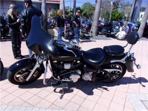 2007 Yamaha Road Star -- Black for sale craigslist