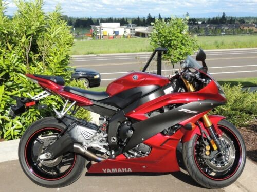 2007 Yamaha YZF Red for sale craigslist