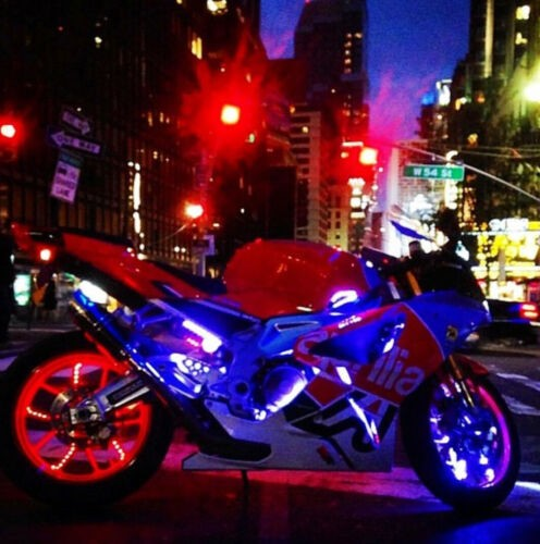 2008 Aprilia rsv 1000R Red for sale craigslist