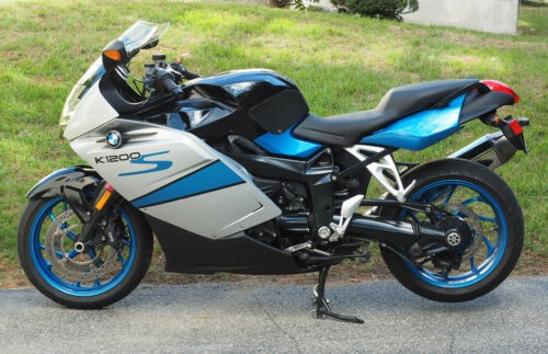 2008 BMW K-Series Titan Silver/Cosmic Blue/Night Black for sale