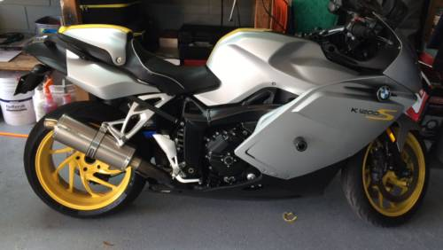 2008 BMW k1200s Silver/Yellow craigslist