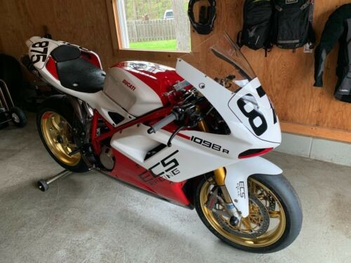 2008 Ducati 1098R White/Red for sale craigslist