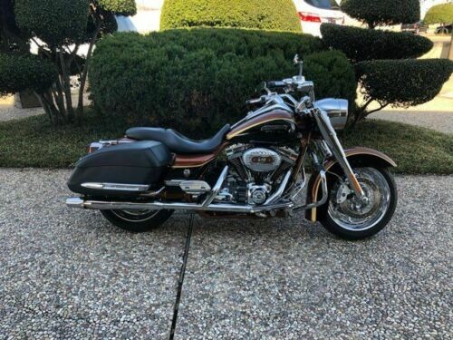 2008 Harley-Davidson CVO Road King -- Brown craigslist
