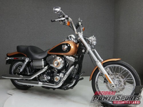 2008 Harley-Davidson Dyna FXDWG WIDE GLIDE 105TH ANNIVERSARY ANNIVERSARY COPPER PEARL/VIVID BLACK for sale craigslist