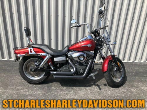 2008 Harley-Davidson Dyna FXDF - Fat Bob Candy Red Sunglo for sale craigslist