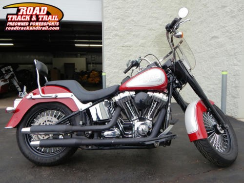 2008 Harley-Davidson FLSTN - Softail® Deluxe -- Red for sale