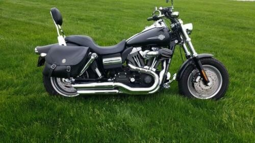 2008 Harley-Davidson FXDF - Dyna® Fat Bob -- Black for sale craigslist