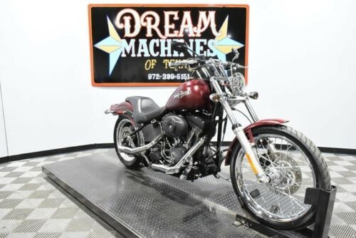 2008 Harley-Davidson FXSTB - Night Train Managers Special -- Red for sale craigslist