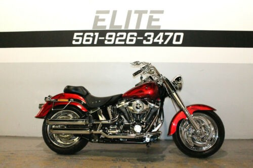 2008 Harley-Davidson Fatboy Softail Fat Boy FLSTF Red for sale craigslist