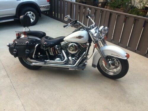 2008 Harley-Davidson Softail White for sale craigslist
