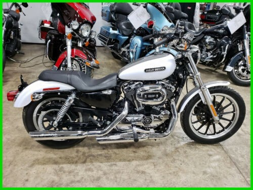 2008 Harley-Davidson Sportster White Gold Pearl / Pewter Pearl for sale craigslist