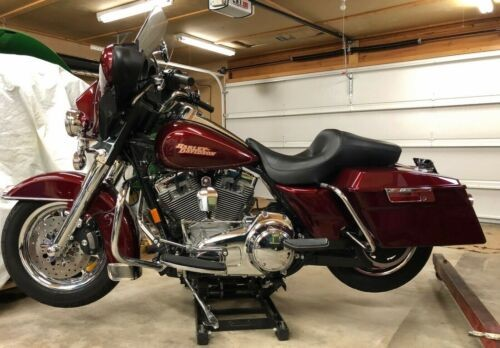 2008 Harley-Davidson Touring Crimson Red Sunglow for sale craigslist