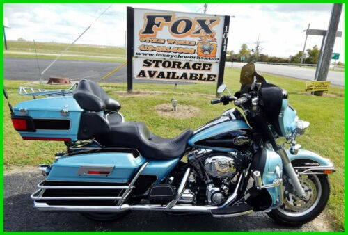2008 Harley-Davidson Touring Ultra Classic Electra Glide Suede Blue Pearl / Dark Blue Pearl for sale craigslist