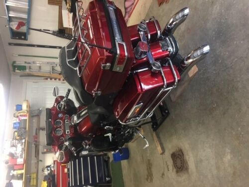2008 Harley-Davidson Ultra Classic Burgundy for sale