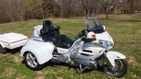 2008 Honda Gold Wing White for sale