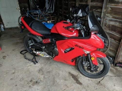 2008 Kawasaki Ninja Red for sale craigslist
