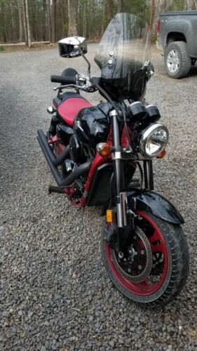 2008 Kawasaki Vulcan Black and red for sale craigslist