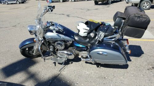 2008 Kawasaki Vulcan Silver for sale