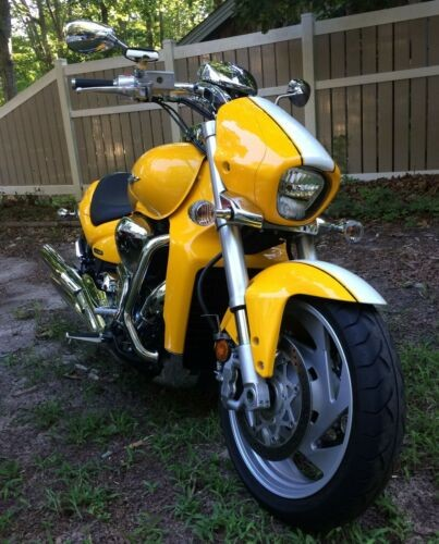 2008 Suzuki Boulevard Yellow for sale
