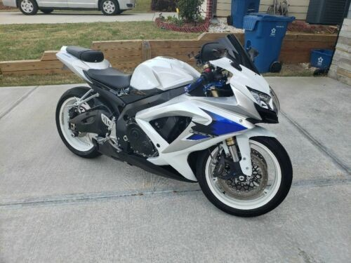 2008 Suzuki GSXR600 White for sale