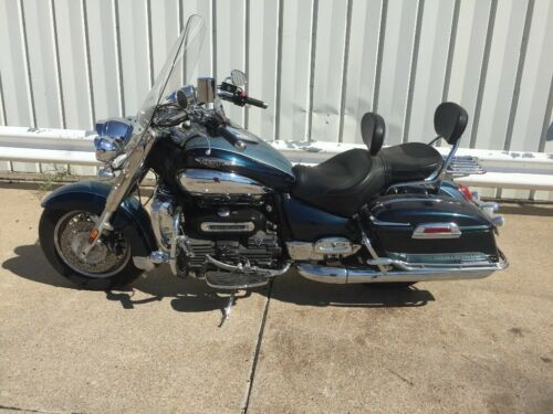 2008 Triumph Rocket III Blue for sale