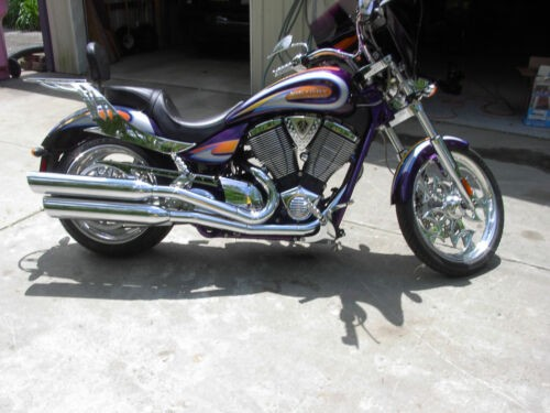 2008 Victory Jackpot Purple for sale craigslist