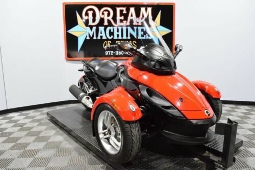 2009 Can-Am Spyder GS SE5 -- Red craigslist