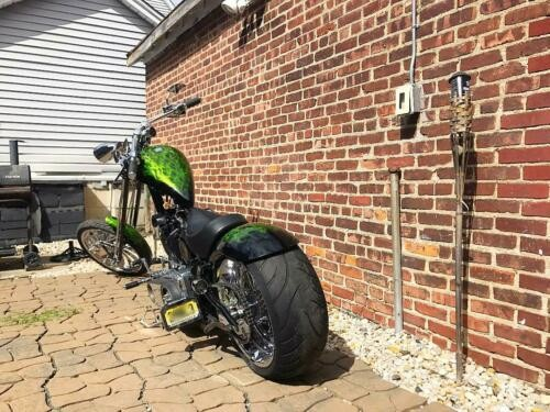 2009 Custom Built Motorcycles Chopper Black for sale craigslist
