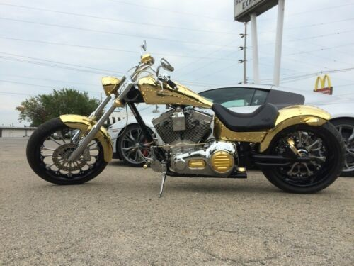 2009 Custom Built Motorcycles Knievel Built KMMI Gold for sale craigslist