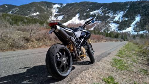 2009 Ducati Hypermotard Black for sale craigslist