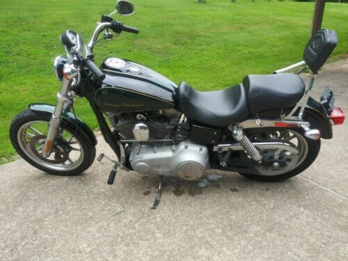 2009 Harley-Davidson Dyna Black/Green w/ gold trim for sale craigslist