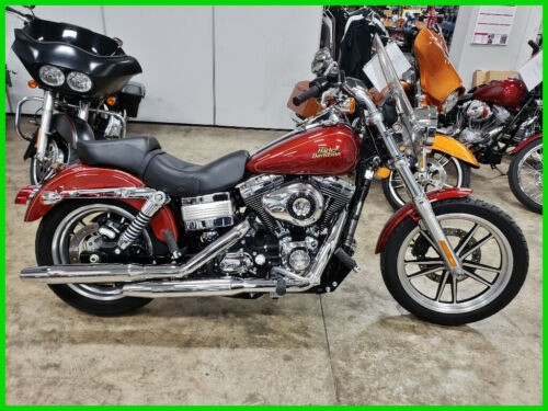 2009 Harley-Davidson Dyna Low Rider Red Hot Sunglo for sale