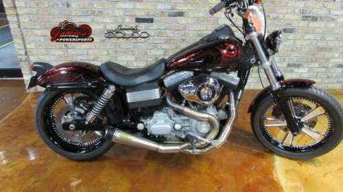 2009 Harley-Davidson Dyna FXDB - Dyna Street Bob Red for sale
