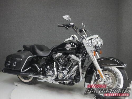 2009 Harley-Davidson FLHRC ROAD KING CLASSIC W/ABS VIVID BLACK for sale craigslist