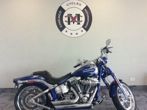 2009 Harley-Davidson FXSTSSE3 CVO SPRINGER -- Blue for sale craigslist