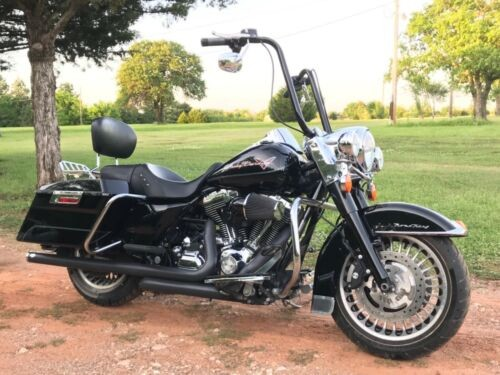 2009 Harley-Davidson Road King FLHR Black for sale