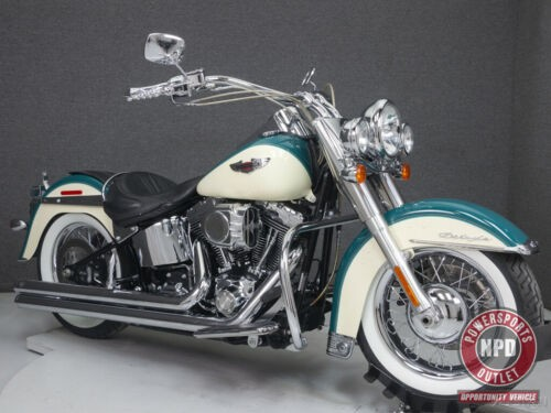 2009 Harley-Davidson Softail FLSTN DELUXE DEEP TURQUOISE/ANTIQUE WHITE for sale craigslist