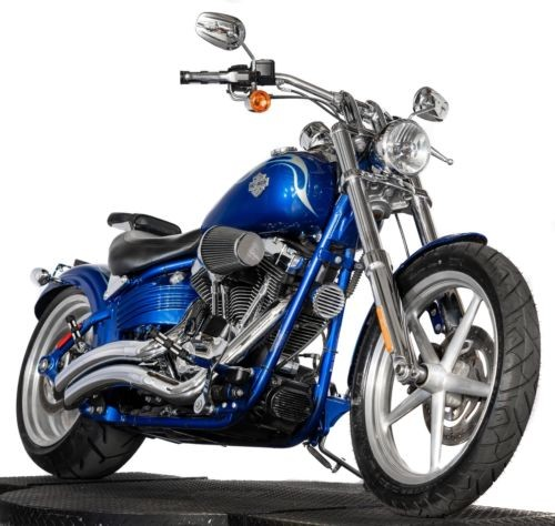 2009 Harley-Davidson Softail Flame Blue Pearl for sale