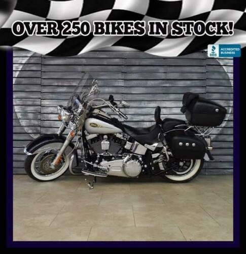 2009 Harley-Davidson Softail Deluxe Purple for sale
